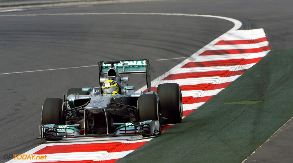 MOTORSPORT - F1 2013 -  GRAND PRIX OF INDIA - BUDDH INTERNATIONAL CIRCUIT - NEW DELHI - 25 TO 27/10/2013 - PHOTO : ERIC VARGIOLU / DPPI - ROSBERG NICO (GER) - MERCEDES GP MGP W04 - ACTION F1 - INDIA GRAND PRIX 2013 ERIC VARGIOLU NEW DELHI INDE  ASIE Auto f1 formula 1 Formula One FORMULE 1 FORMULE UN GP Grand Prix INDE Motorsport Sport