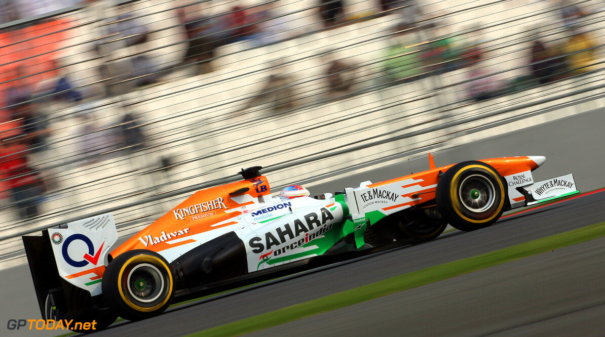 Formula One World Championship Paul di Resta (GBR) Sahara Force India VJM06.