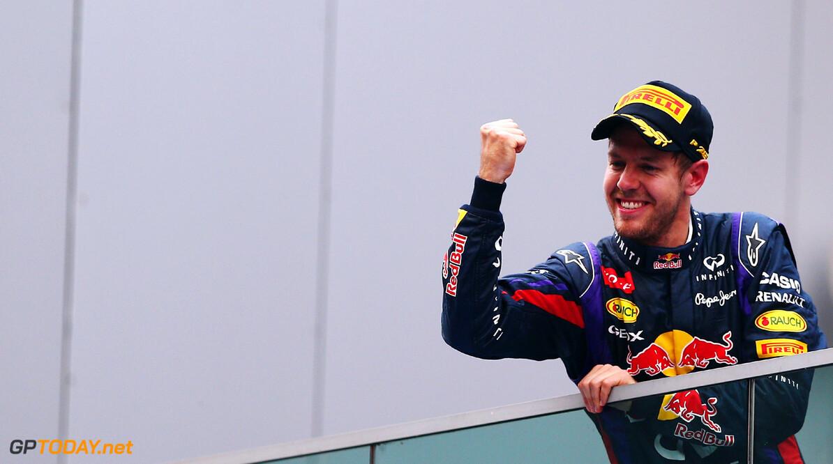 <b>Rapport Abu Dhabi 2013:</b> Vettel grandioos