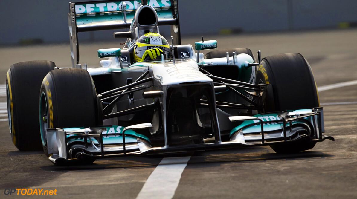 'Mercedes blokkeert verhoging minimumgewicht voor 2014'