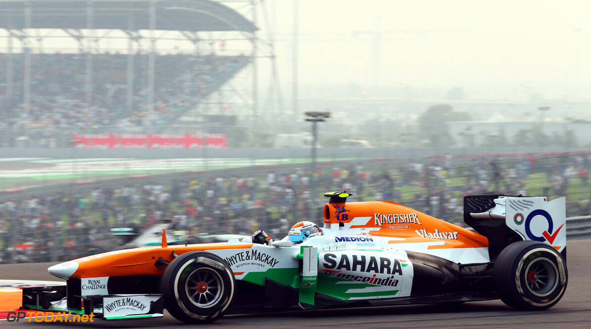 Formula One World Championship Adrian Sutil (GER) Sahara Force India VJM06.