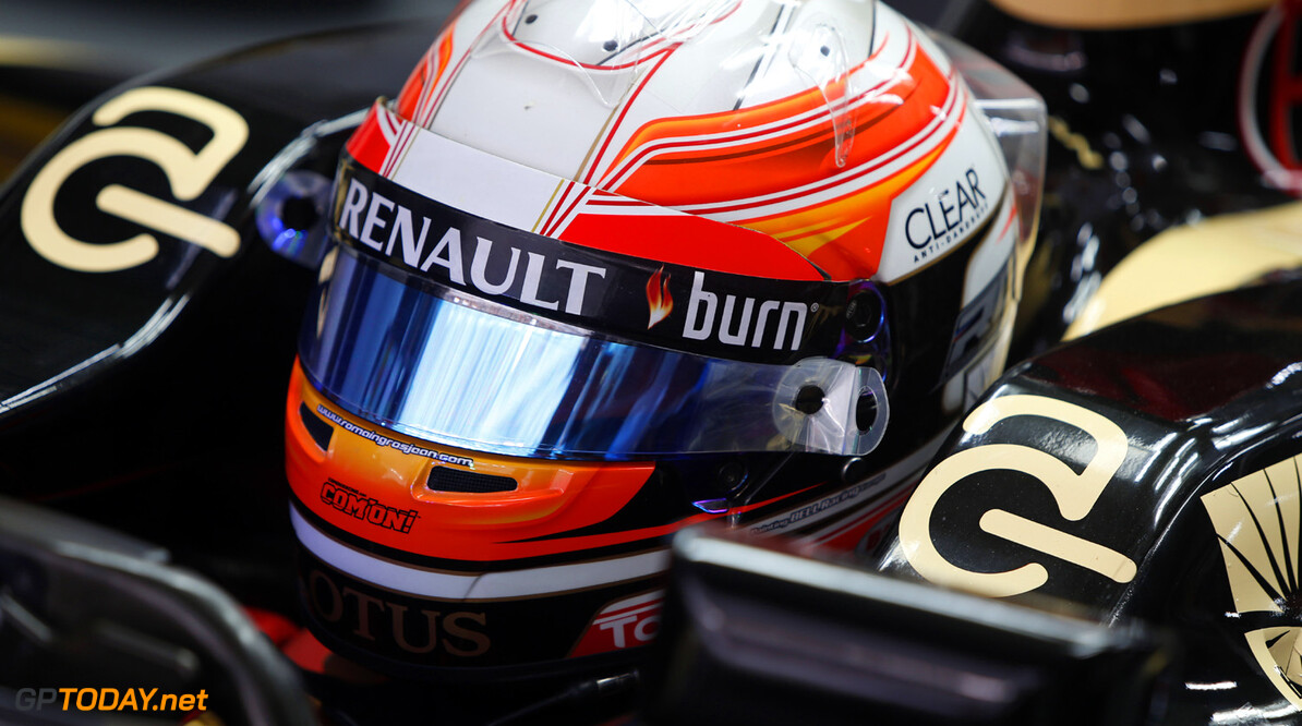 FP1: Grosjean sets the pace at Yas Marina Circuit
