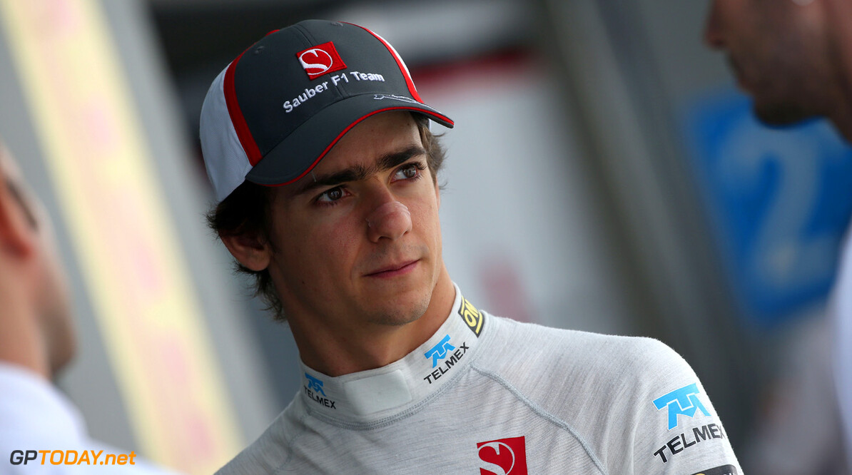Indian GP Friday 25/10/13 Esteban Gutierrez (MEX), Sauber F1 Team.