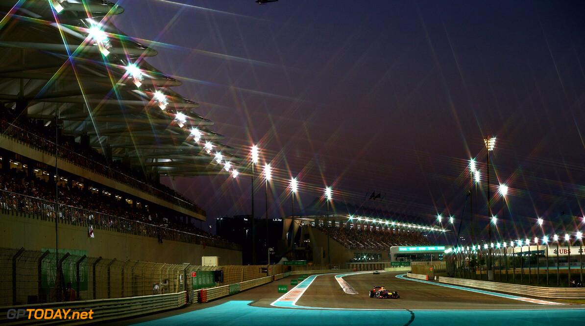 Twee DRS-zones op Yas Marina Circuit voor Abu Dhabi 2014