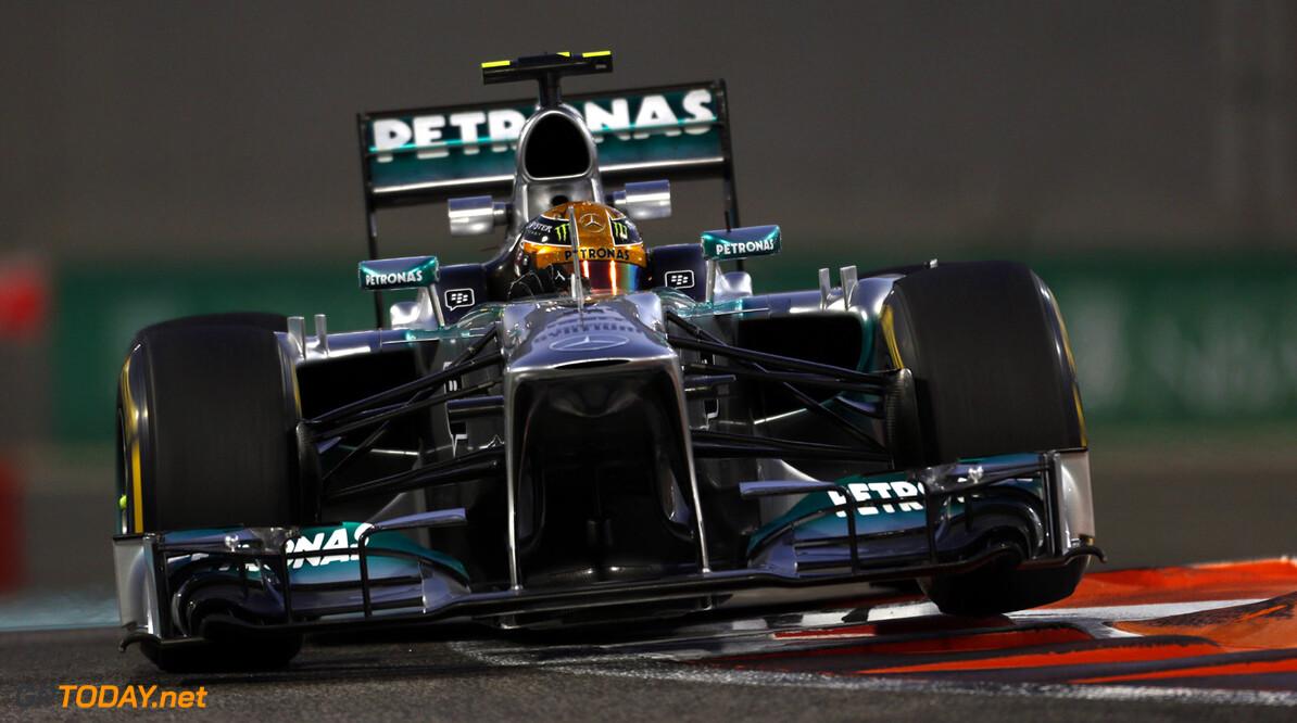 Mercedes piekert over set-up om inhalen te bevorderen