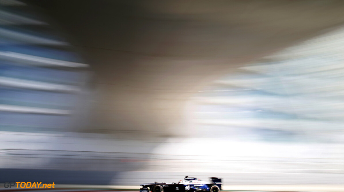 2013 Abu Dhabi Grand Prix - Friday Yas Marina Circuit, Abu Dhabi, United Arab Emirates. Friday 1st November 2013. Pastor Maldonado, Williams FW35 Renault. Photo: Glenn Dunbar/Williams F1. ref: Digital Image _89P9941      formula 1 formula one f1 gp uae Action