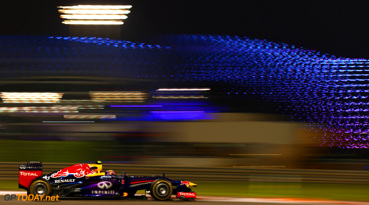 166989331XX00188_F1_Grand_P ABU DHABI, UNITED ARAB EMIRATES - NOVEMBER 01:  Mark Webber of Australia and Infiniti Red Bull Racing drives during practice for the Abu Dhabi Formula One Grand Prix at the Yas Marina Circuit on November 1, 2013 in Abu Dhabi, United Arab Emirates.  (Photo by Paul Gilham/Getty Images) *** Local Caption *** Mark Webber F1 Grand Prix of Abu Dhabi - Practice Paul Gilham Abu Dhabi United Arab Emirates