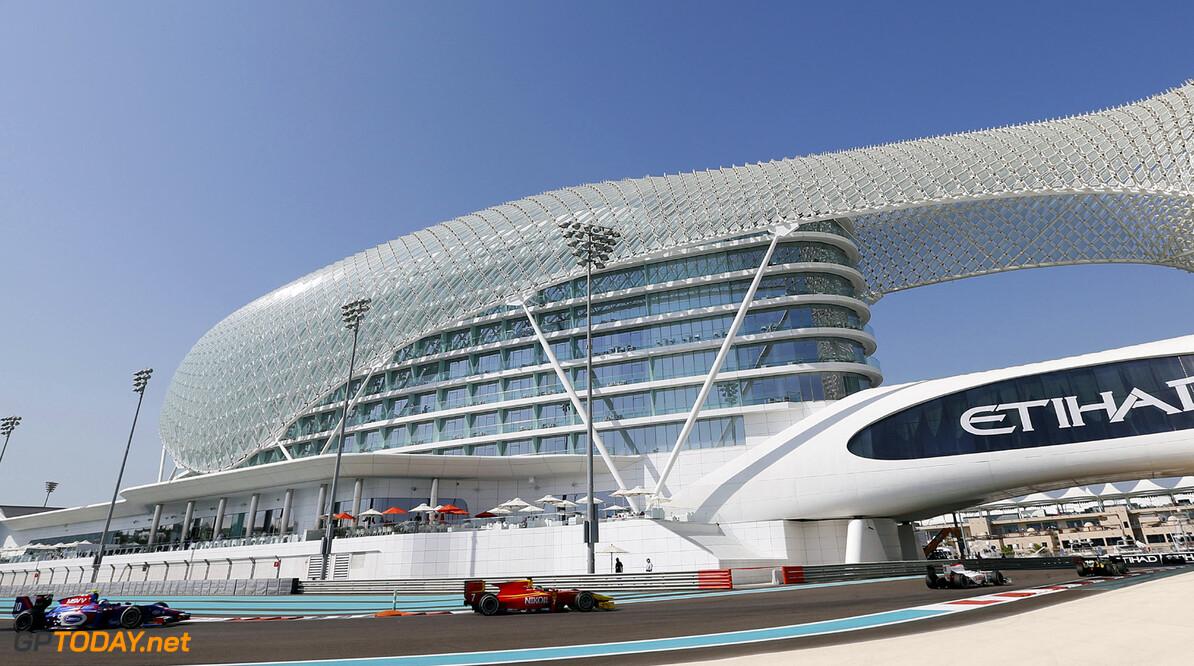 2013 GP2 Championship. Round 11. Yas Marina Circuit, Abu Dhabi, United Arab Emirates. 3rd November 2013. Sunday Race.  Race action.  Photo: Alastair Staley/GP2 Media Service.  ref: Digital Image _R6T7468.jpg  Al Staley
