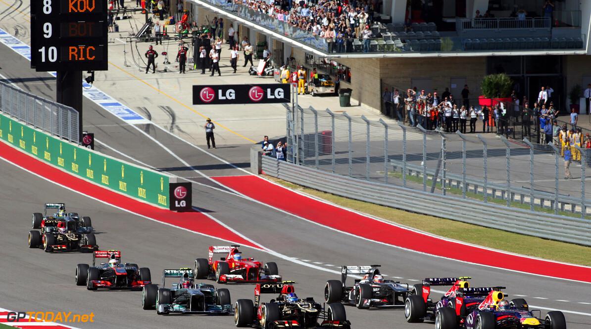 Formule 1 en NASCAR in 2015 niet in elkaars vaarwater