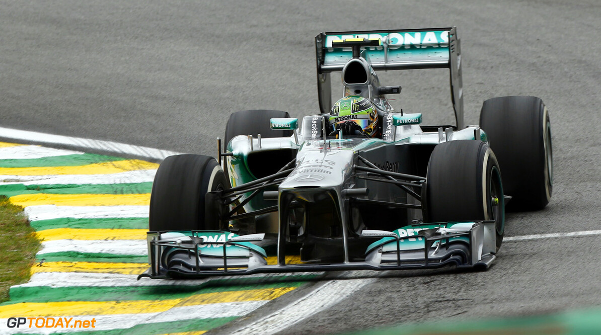 Mercedes well placed to be a contender for 2014 title
