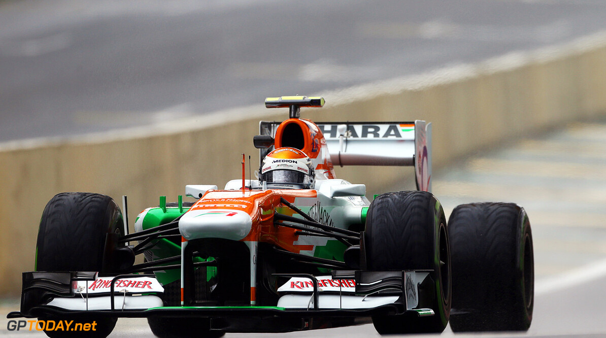 Sutil describes his orange Force India as a carrot