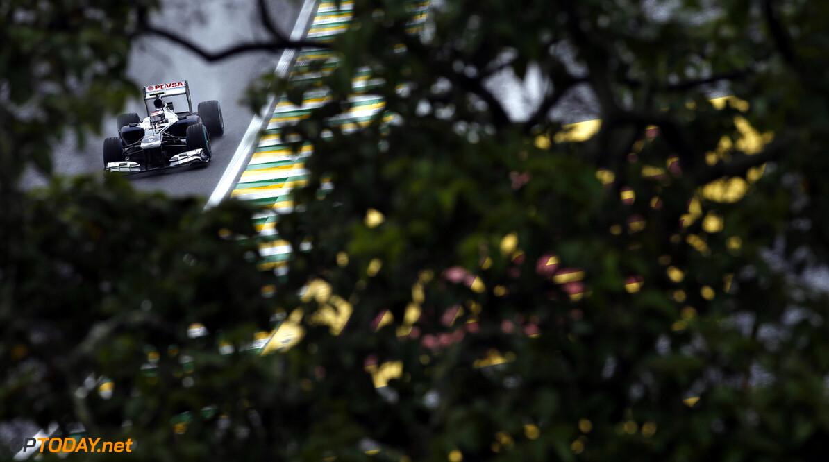 Interlagos, Sao Paulo, Brazil. Saturday 23th November 2013.  Valtteri Bottas, Williams FW35 Renault.  Photo: Glenn Dunbar/Williams F1.  ref: Digital Image _89P3100 Brazilian Grand Prix - Saturday     f1 formula 1 formula one gp grand prix brazil