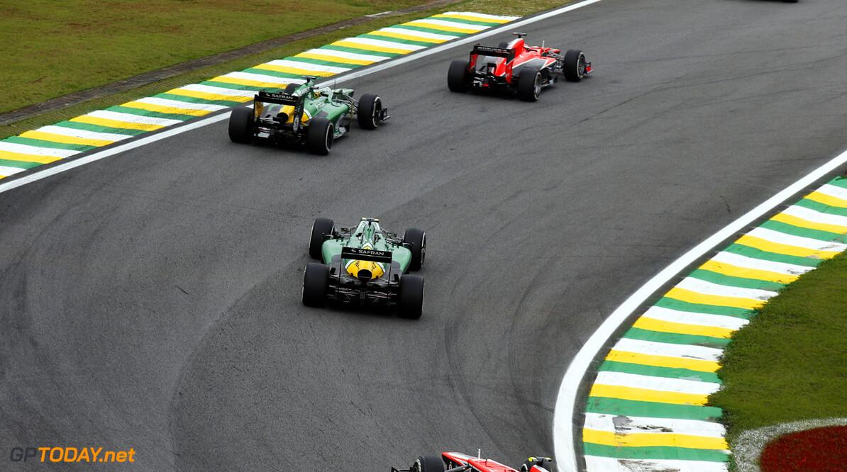 Interlagos, Sao Paulo, Brazil. Sunday 24th November 2013.  World Copyright: Charles Coates/LAT Photographic. ref: Digital Image _N7T9778      f1 formula 1 formula one gp grand prix brazil