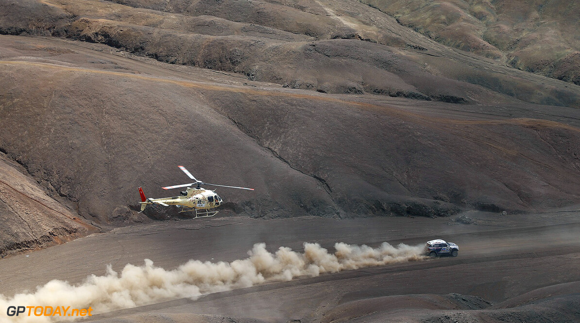 MOTORSPORT - DAKAR ARGENTINA BOLIVIA CHILE  2014 - STAGE 10 / ETAPE 10 - IQUIQUE (CHI) - ANTOFAGASTA (CHI) - 15/01/2014 - PHOTO FREDERIC LE FLOCH / DPPI  - 301	AL-ATTIYAH NASSER (QAT) / CRUZ LUCAS - MINI - ACTION MOTORSPORT -  DAKAR 2014 PART 2 FREDERIC LE FLOCH IQUIQUE CHILE  2014 ARGENTINA ARGENTINE Auto Car CHILE CHILI DAKAR MOTOR Motorsport OFF ROAD OFFROAD rally RALLY RAID RALLYE RALLYE RAID RALLYRAID Sport VERIFICATION TECHNIQUE SCRUTINER ETAPE 1 FIRST DAY DEPART START