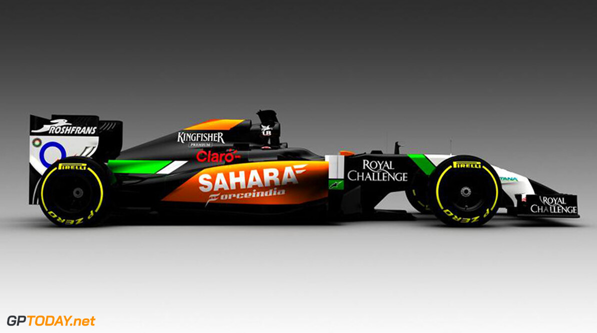 Force India geeft eerste beeld van VJM07 vrij