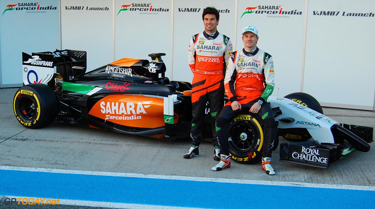 Force India onthult VJM07 officieel in Jerez