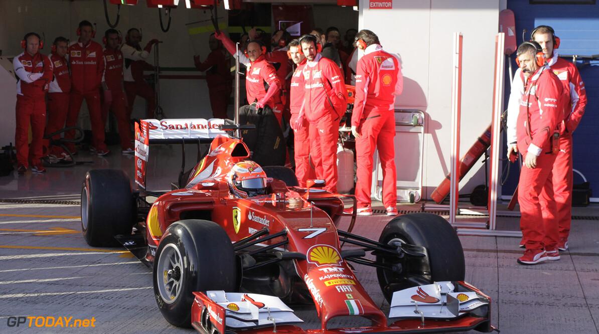 Eerste foto's van de eerste testdag in Jerez