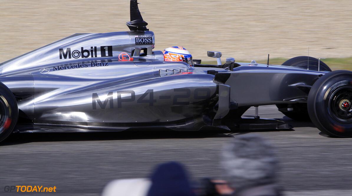 Button vol goede moed over nieuwe structuur McLaren
