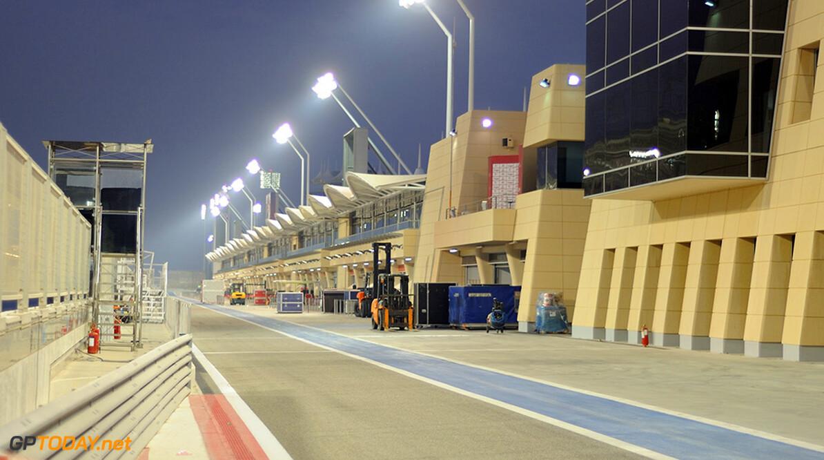 Rijdersschema voor de tweede test van 2014 in Bahrein