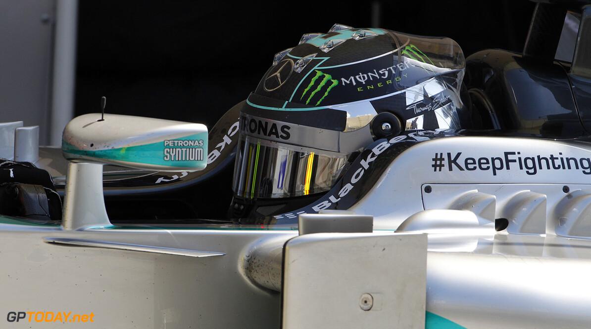 VT2: Raikkonen en Vettel hijgen Rosberg in de nek