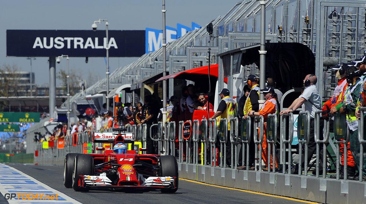 GP AUSTRALIA F1/2014  MELBOURNE (AUSTRALIA) 14/03/2014  (C) FOTO STUDIO COLOMBO X FERRARI GP AUSTRALIA F1/2014  (C) FOTO STUDIO COLOMBO MELBOURNE  AUSTRALIA