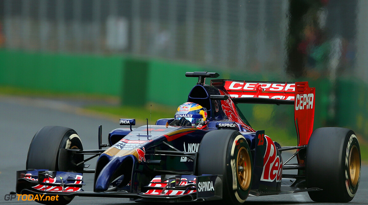 477191467KR00304_Australian MELBOURNE, AUSTRALIA - MARCH 16:  Jean-Eric Vergne of France and Scuderia Toro Rosso drives during the Australian Formula One Grand Prix at Albert Park on March 16, 2014 in Melbourne, Australia.  (Photo by Robert Cianflone/Getty Images) *** Local Caption *** Jean-Eric Vergne Australian F1 Grand Prix - Race Robert Cianflone Melbourne Australia  Formula One Racing formula 1 Auto Racing Formula 1 Australian Grand Prix Australian Formula One Grand Prix Formula One Grand Prix Australia F1 Grand Prix