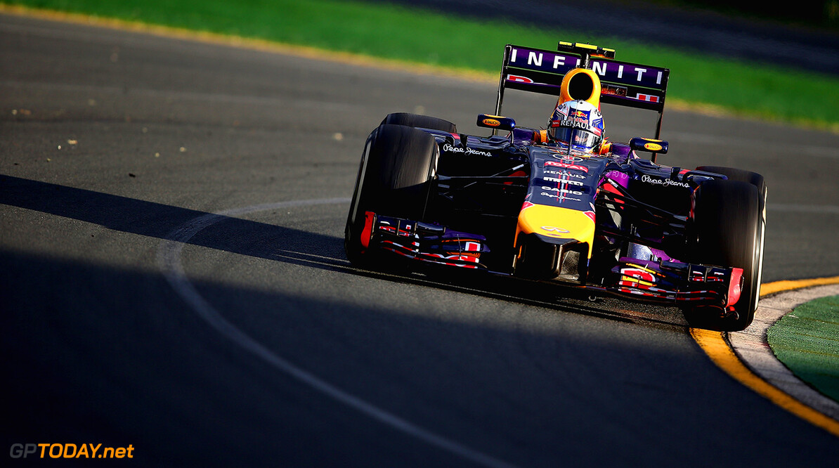 477191467KR00179_Australian MELBOURNE, AUSTRALIA - MARCH 16:  Daniel Ricciardo of Australia and Infiniti Red Bull Racing drives on his way to finishing second during the Australian Formula One Grand Prix at Albert Park on March 16, 2014 in Melbourne, Australia.  (Photo by Clive Mason/Getty Images) *** Local Caption *** Daniel Ricciardo Australian F1 Grand Prix - Race Clive Mason Melbourne Australia  Formula One Racing formula 1 Auto Racing Formula 1 Australian Grand Prix Australian Formula One Grand Prix Formula One Grand Prix Australia F1 Grand Prix