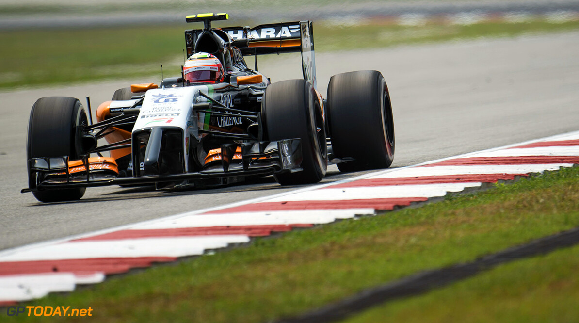 "Mallya: ""Nat of droog, Force india finisht in de punten"""