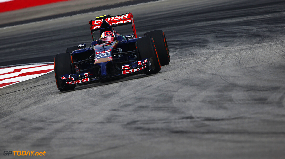 479868425KR00123_F1_Grand_P KUALA LUMPUR, MALAYSIA - MARCH 28:  Daniil Kvyat of Russia and Scuderia Toro Rosso drives during practice for the Malaysia Formula One Grand Prix at the Sepang Circuit on March 28, 2014 in Kuala Lumpur, Malaysia.  (Photo by Clive Mason/Getty Images) *** Local Caption *** Daniil Kvyat F1 Grand Prix of Malaysia - Practice Clive Mason Kuala Lumpur Malaysia  Formula One Racing formula 1 Auto Racing Malaysia F1 Grand Prix Malaysian Formula One Grand Prix Formula One Grand Prix