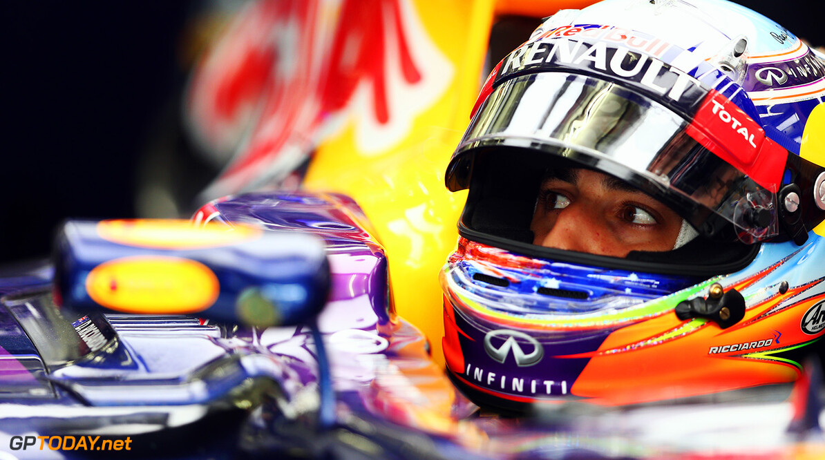Red Bull Racing licht optie in contract van Ricciardo
