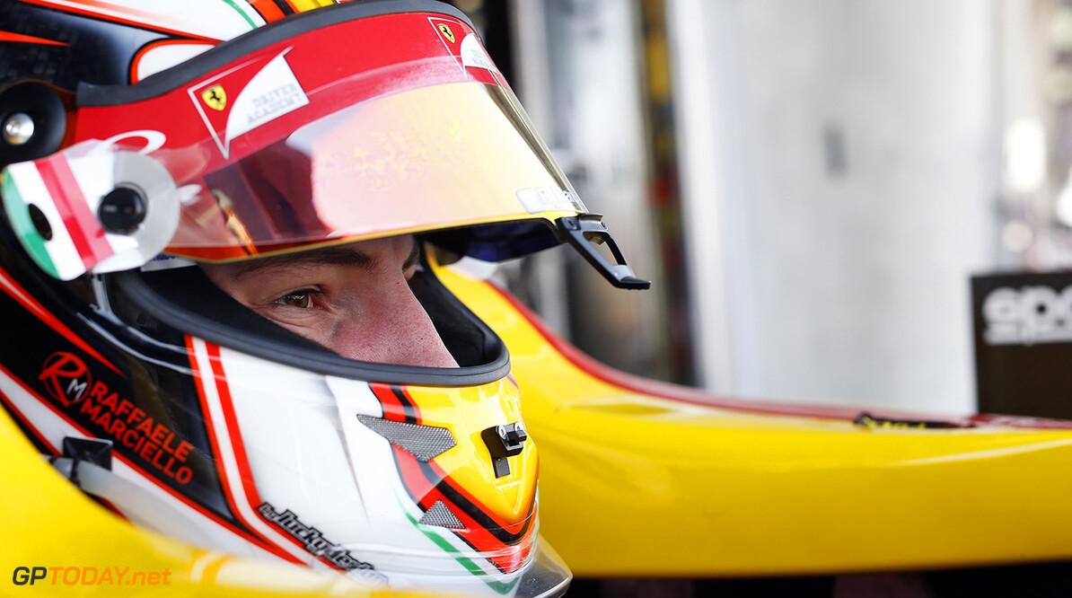 2014 GP2 Series Round 1 Bahrain International Circuit, Bahrain Saturday 5 April 2014. Raffaele Marciello (ITA, Racing Engineering)  World Copyright: Alastair Staley/LAT Photographic. ref: Digital Image _R6T0454  Alastair Staley    Race One