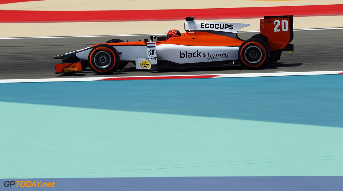 2014 GP2 Series Round 1 Bahrain International Circuit, Bahrain Friday 4 April 2014. Daniel de Jong (NED, MP Motorsport)  World Copyright: Sam Bloxham/LAT Photographic. ref: Digital Image _G7C0718   Sam Bloxham    Practice