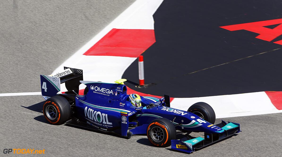 2014 GP2 Series Round 1 Bahrain International Circuit, Bahrain Sunday 6 April 2014. Julian Leal (COL, Carlin)  World Copyright: Sam Bloxham/LAT Photographic. ref: Digital Image _SBL7513  Sam Bloxham    Race Two
