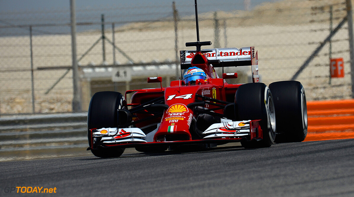 TEST BAHRAIN F1/2014 - T4 MANAMA (BAHRAIN) 08/04/2014  (C) FOTO STUDIO COLOMBO X FERRARI TEST BAHRAIN F1/2014 - T4 (C) FOTO STUDIO COLOMBO MANAMA  BAHRAIN