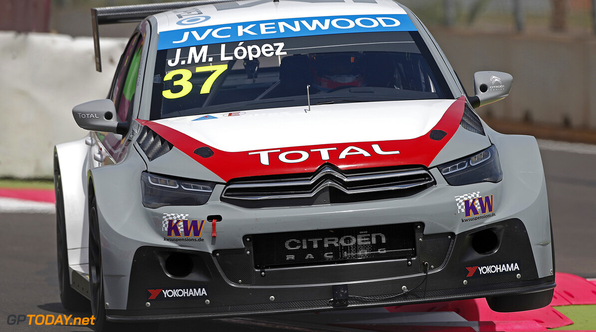 Lopez grijpt pole position in Macau, Coronel vijfde