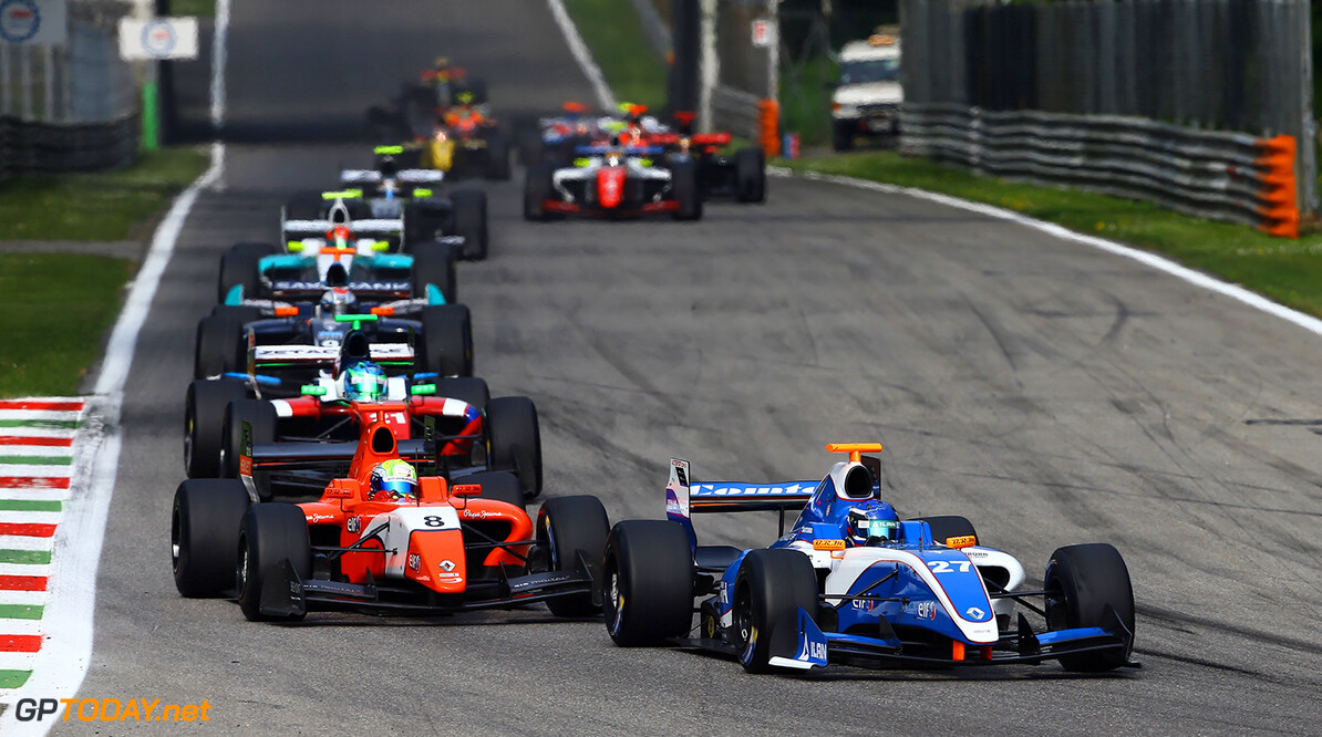 27, Nikolay Martsenko (Rus), Comtec Racing (Gbr), Action during the 2014  of World Series by Renault,  FR 35 race on April 13, 2014 in Monza, Italy. Photo DPPI AUTO - WSR FR 3.5 MONZA 2014 ALEXANDRE GUILLAUMOT MONZA ITALIE  Auto Car FR Formula Renault FR 3.5 MONOPLACE Motorsport Race UNIPLACE WSR WORLD SERIES BY RENAULT 2014 APRIL AVRIL