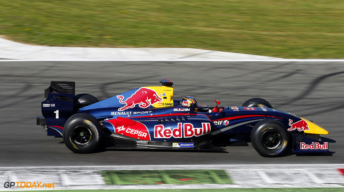 01, Carlos Sainz (Esp), Dams (Fra), Action during the 2014  of World Series by Renault,  FR 35 race on April 13, 2014 in Monza, Italy. Photo Alexandre Guillaumot / DPPI AUTO - WSR FR 3.5 MONZA 2014 ALEXANDRE GUILLAUMOT MONZA ITALIE  Auto Car FR Formula Renault FR 3.5 MONOPLACE Motorsport Race UNIPLACE WSR WORLD SERIES BY RENAULT 2014 APRIL AVRIL