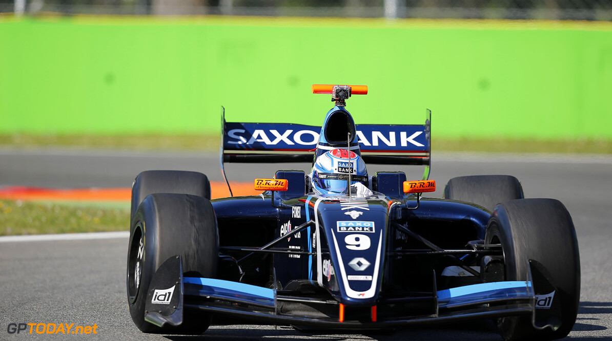 09, Marco S?rensen (Den), Tech 1 Racing (Fra), Action during the 2014  of World Series by Renault,  FR 35 race on April 13, 2014 in Monza, Italy. Photo Alexandre Guillaumot / DPPI AUTO - WSR FR 3.5 MONZA 2014 ALEXANDRE GUILLAUMOT MONZA ITALIE  Auto Car FR Formula Renault FR 3.5 MONOPLACE Motorsport Race UNIPLACE WSR WORLD SERIES BY RENAULT 2014 APRIL AVRIL