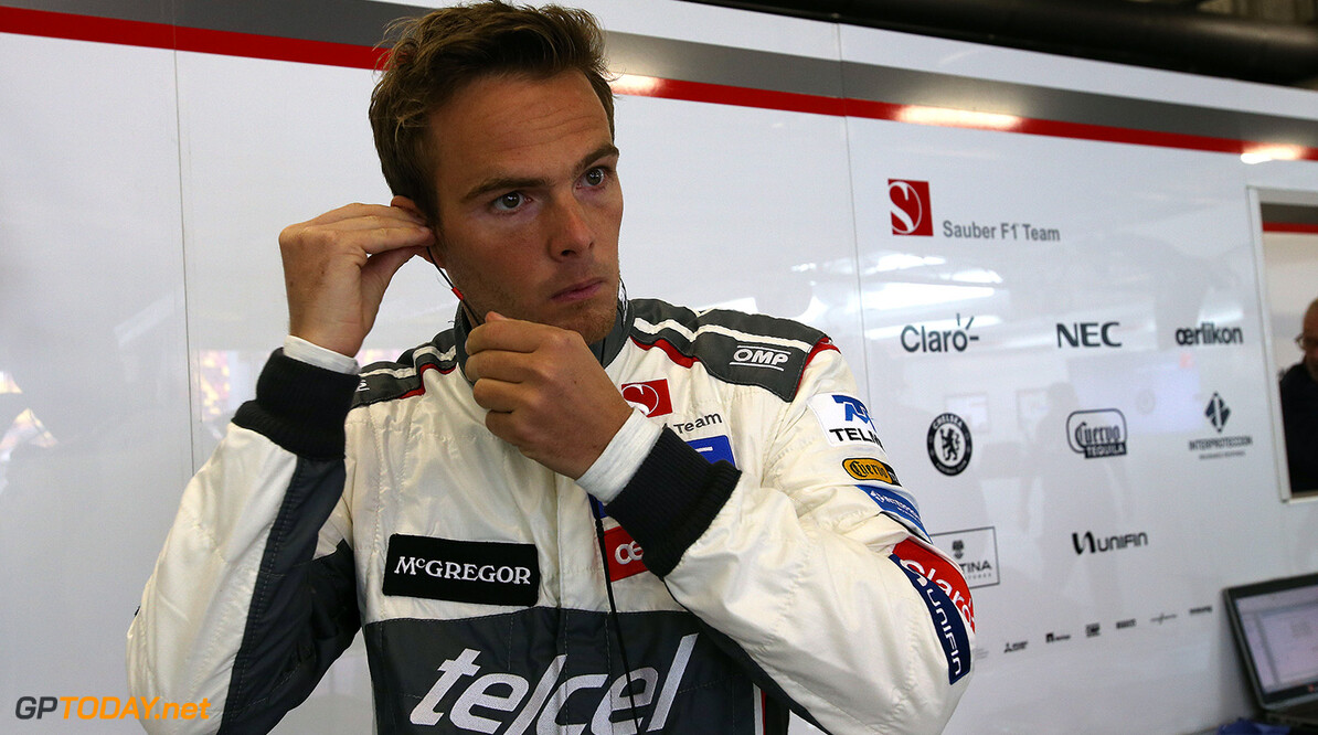 Van der Garde drops hint about his F1 future
