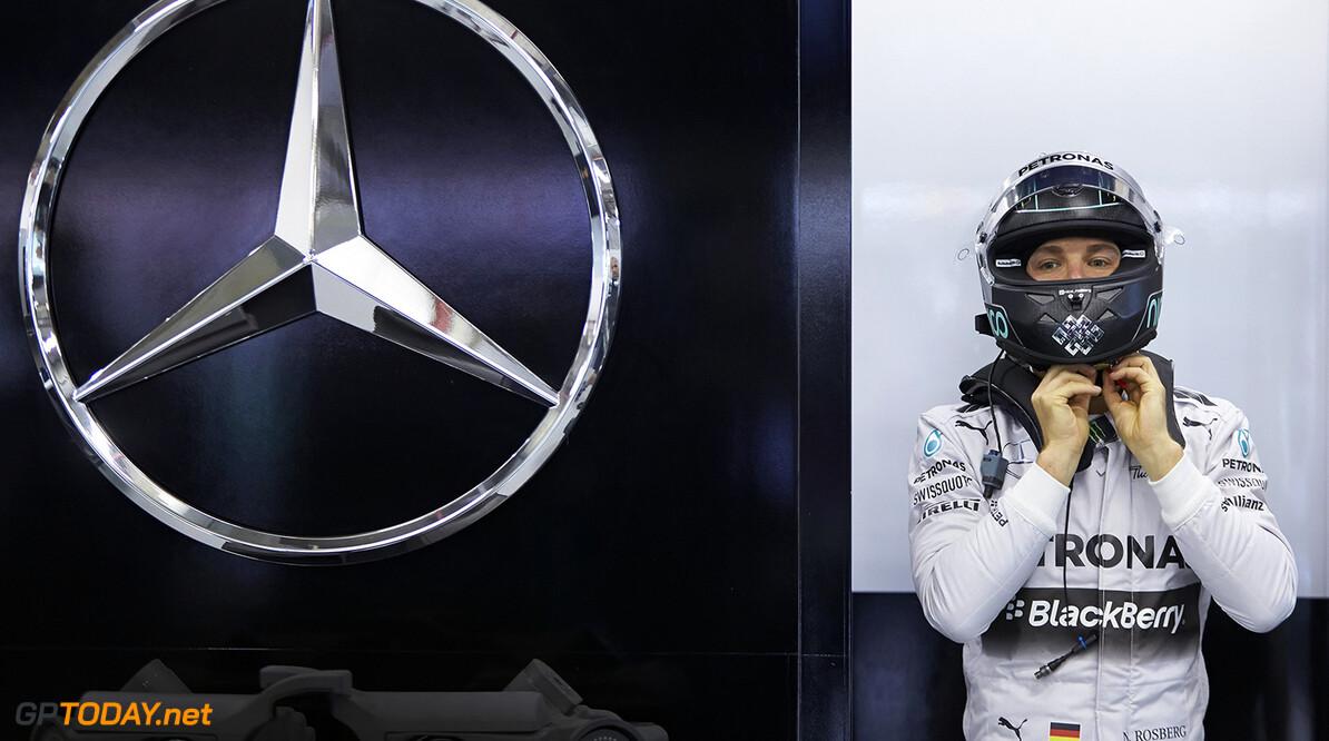 """Rosberg draait rollen om: """"Spanje juist kans voor Mercedes"""""""