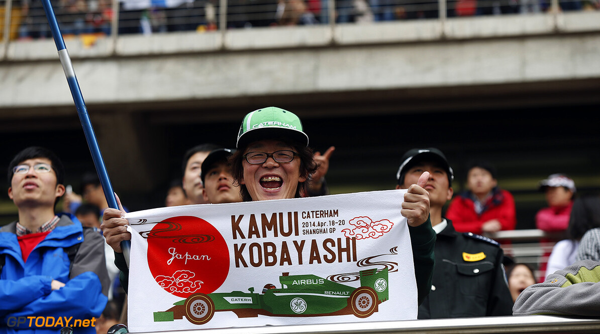 Kobayashi to race for Caterham in Japan, Merhi to drive in FP1