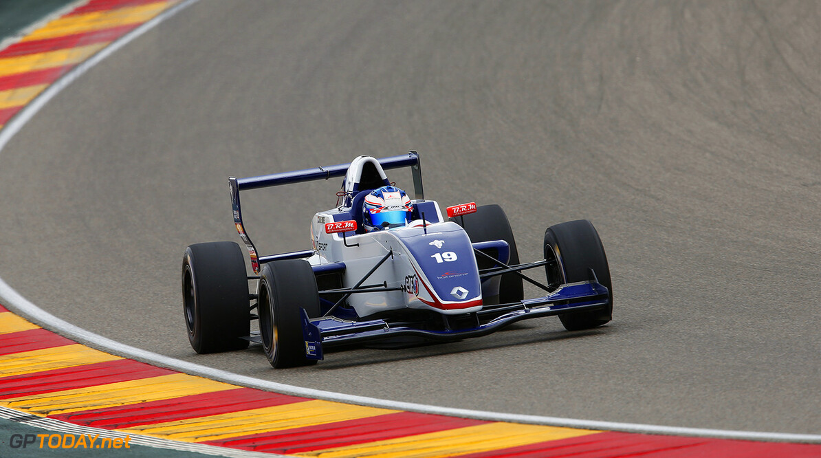19 DE VRIES Nyck  (Ned) Formula Renault 2.0 Koiranen Gp action during the 2014 World Series by Renault, on April 27, 2014 in Motorland, Spain. Photo Florent Gooden / DPPI AUTO - WSR MOTORLAND 2014 FLORENT GOODEN MOTORLAND SPAIN  Auto Car FR Formula Renault FR 3.5 MONOPLACE Motorsport Race UNIPLACE WSR WORLD SERIES BY RENAULT 2014 APRIL AVRIL