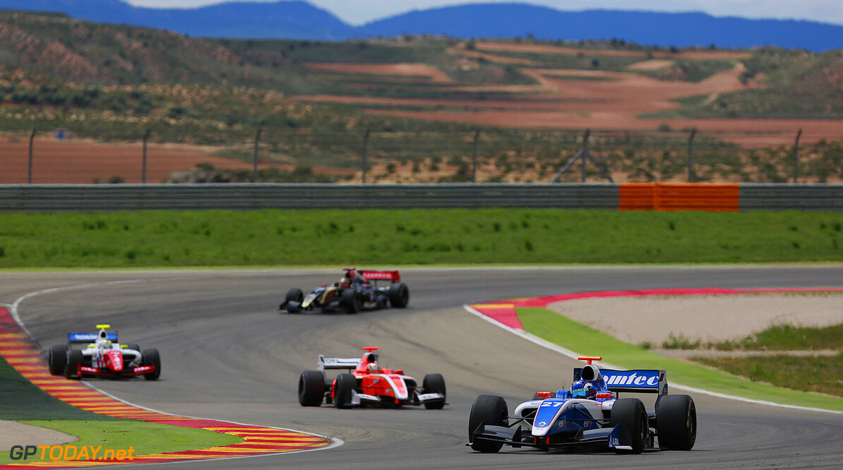 27 MARTSENKO Nikolay (Rus) Formula Renault 3.5 Comtec Racing action during the 2014 World Series by Renault, on April 27, 2014 in Motorland, Spain. Photo Antonin Grenier / DPPI AUTO - WSR MOTORLAND 2014 ANTONIN GRENIER MOTORLAND SPAIN  Auto Car FR Formula Renault MONOPLACE Motorsport Race UNIPLACE WSR WORLD SERIES BY RENAULT 2014 APRIL AVRIL