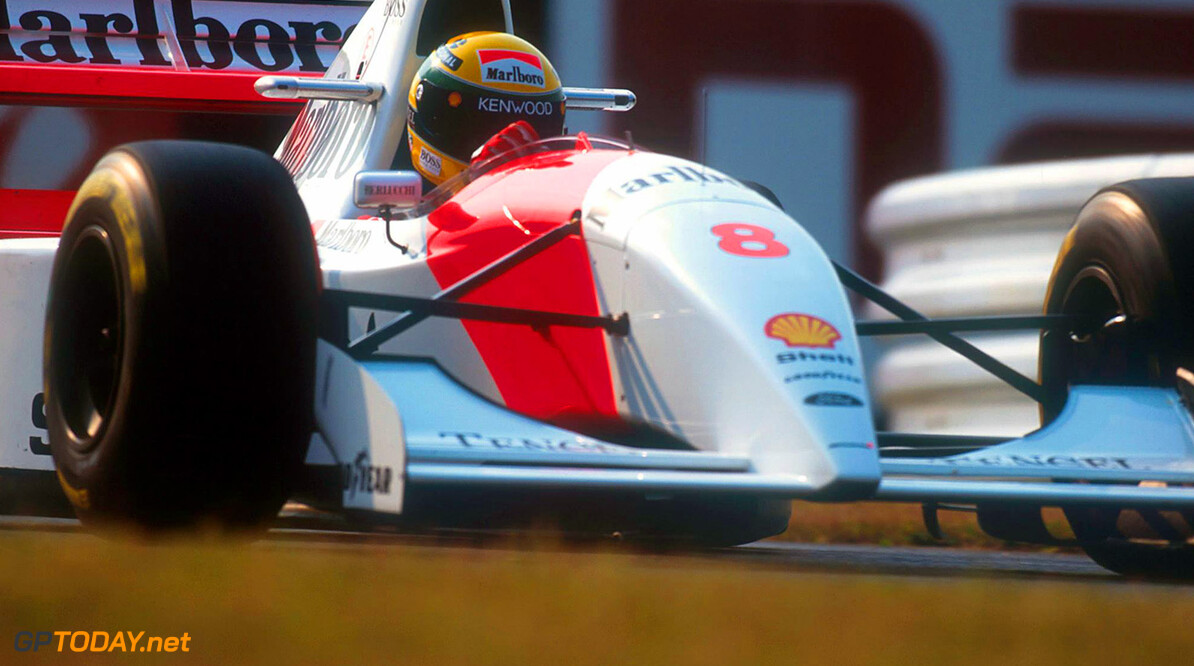 <strong>Historie:</strong> Haven't made the grid: De McLaren MP4-8 Chrysler uit 1993