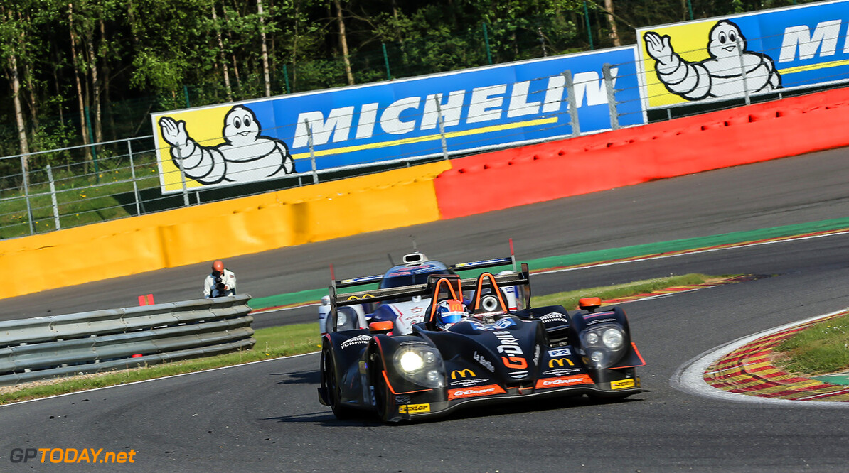 GT3_1041.JPG Race / 6 Hours of Spa-Francorchamps / Circuit Spa-Francorchamp / Belgium Roman Rusinov (RUS) / Olivier Pla (FRA) / Julien Canal (FRA) driving the #26 LMP2 G-Drive Racing (RUS) Morgan-Nissan Gabi Tomescu    Adreanal media