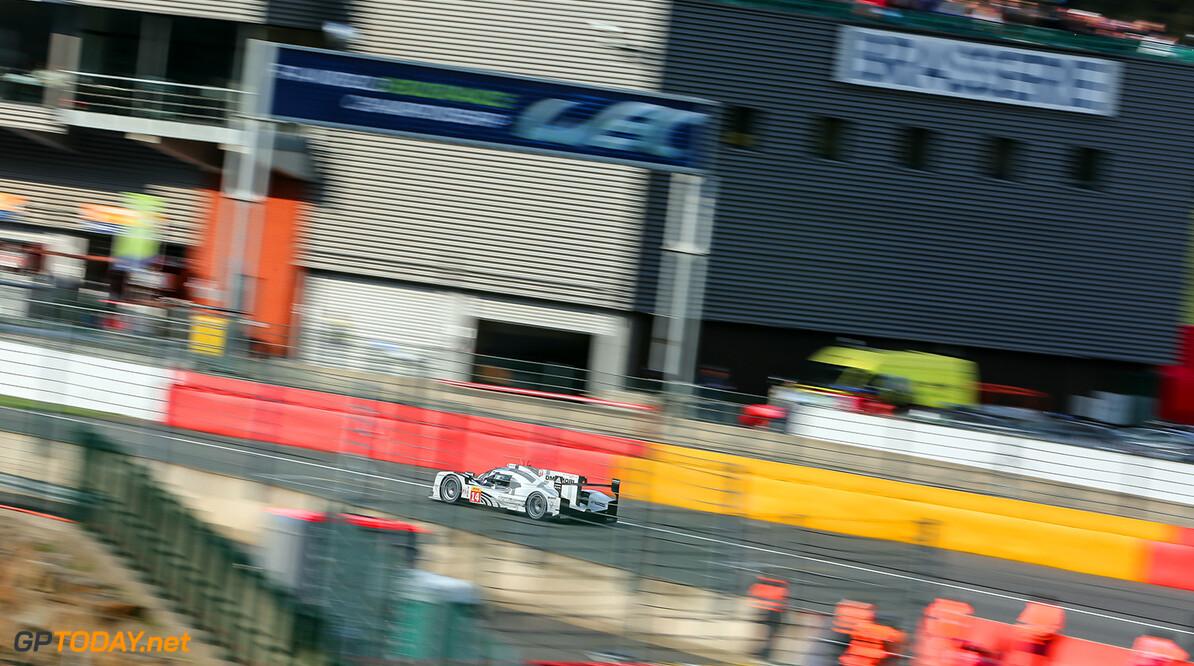 GT3_0961.JPG Race / 6 Hours of Spa-Francorchamps / Circuit Spa-Francorchamp / Belgium Romain Dumas (FRA) / Neel Jani (CHE) / Marc Lieb (DEU) driving the #14 LMP1 Porsche Team (DEU) Porsche 919 Hybrid  Gabi Tomescu    Adreanal media