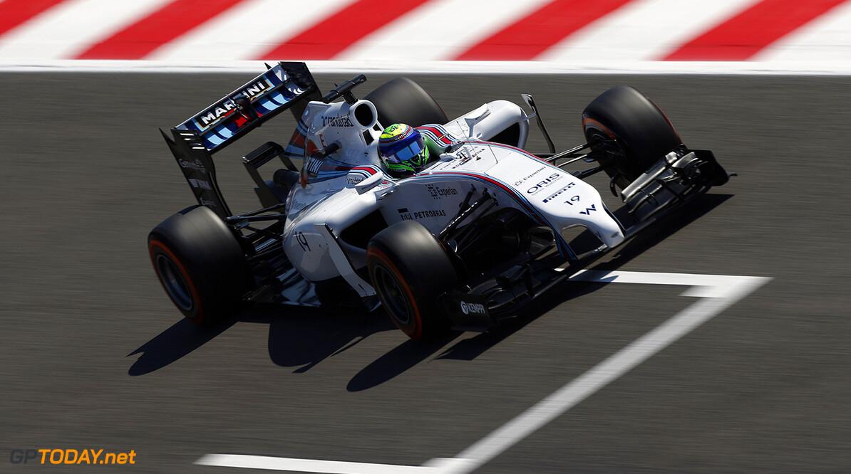 Circuit de Catalunya, Barcelona, Spain. Friday 9 May 2014. Felipe Massa, Williams FW36 Mercedes. Photo: Andrew Ferraro/Williams F1. ref: Digital Image _FER7258      f1 formula 1 formula one gp grand prix Action