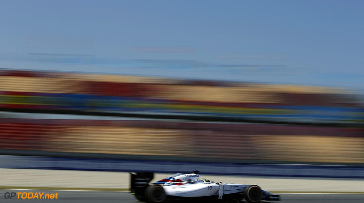 Circuit de Catalunya, Barcelona, Spain. Friday 9 May 2014. Felipe Massa, Williams FW36 Mercedes. Photo: Glenn Dunbar/Williams F1. ref: Digital Image _89P4666      f1 formula 1 formula one gp grand prix Action