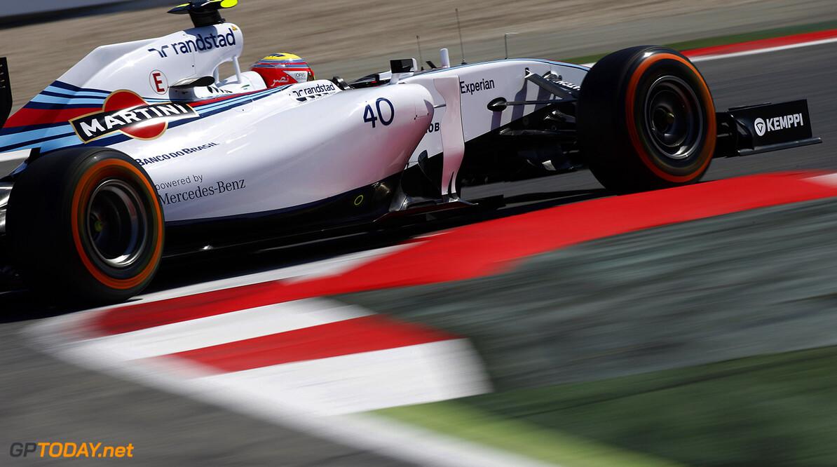 Circuit de Catalunya, Barcelona, Spain. Friday 9 May 2014. Felipe Nasr, Williams FW36 Mercedes. Photo: Glenn Dunbar/Williams F1. ref: Digital Image _89P3933      f1 formula 1 formula one gp grand prix Action