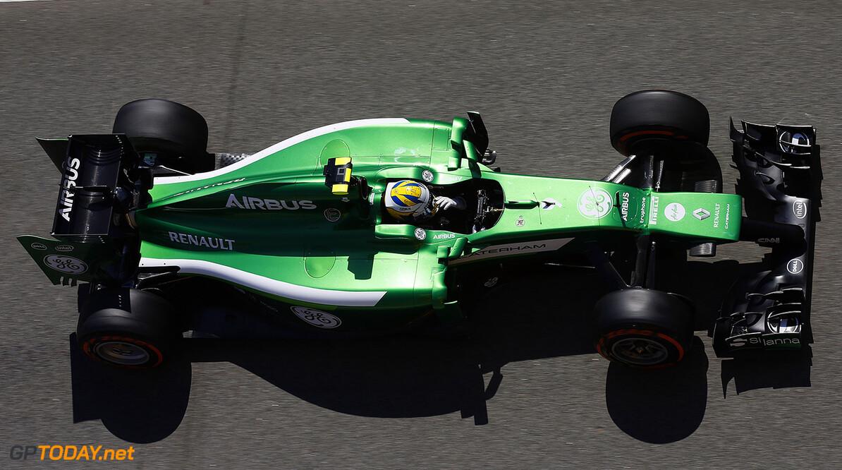 Circuit de Catalunya, Barcelona, Spain. Friday 9 May 2014. Marcus Ericsson, Caterham CT05 Renault. World Copyright: Charles Coates/LAT Photographic. ref: Digital Image _J5R9174      f1 formula 1 formula one gp grand prix